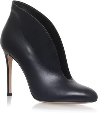 Gianvito Rossi Leather Vamp Pumps 105