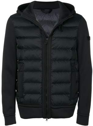 Peuterey panel hooded padded jacket