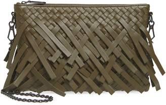Bottega Veneta Small Intrecciato Leather Crossbody Bag