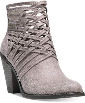 Fergalicious Weever Block Heel Ankle Booties $69 thestylecure.com
