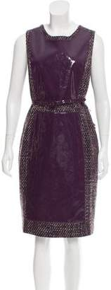 Raoul Sleeveless Tweed Dress