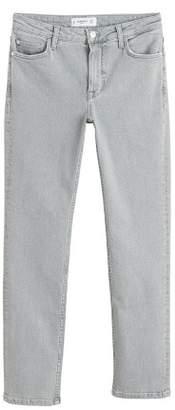 MANGO Jeans Grey slim-fit