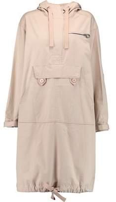 Marc by Marc Jacobs Appliquéd Cotton-Blend Hooded Coat