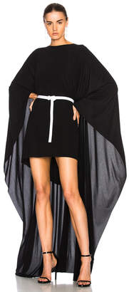 Norma Kamali Poncho Dress
