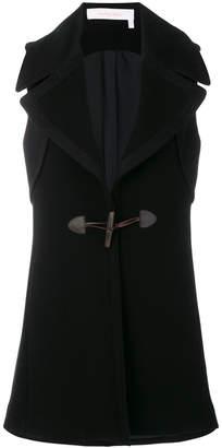 See by Chloe sleeveless toggle coat