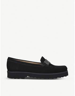 Carvela Comfort Charm suede loafers