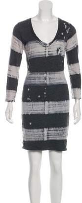 Raquel Allegra Tie-Dye Mini Dress