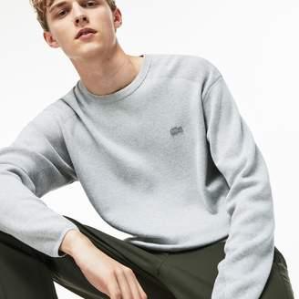 Lacoste Men's Motion Crew Neck Coolmax Cotton Sweater