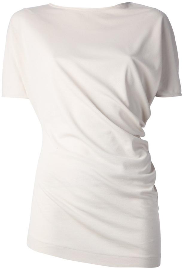 Jil Sander gathered t-shirt