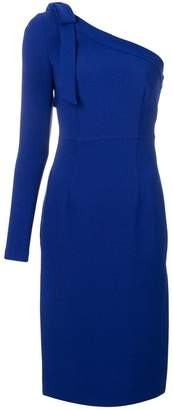 P.A.R.O.S.H. slim fit one-shoulder dress