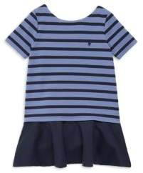 Ralph Lauren Toddler's, Little Girl's& Girl's Linear Ponte Dress