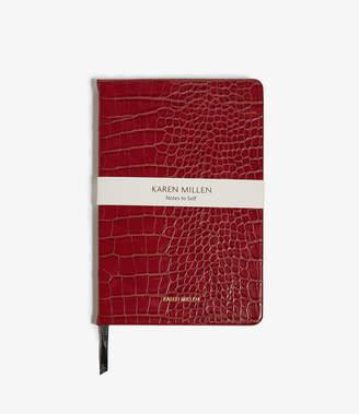 Karen Millen Croc-Effect Notebook