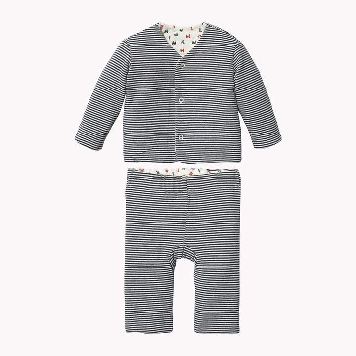 Tommy Hilfiger TH Baby Reversible Onesie with Gift Box