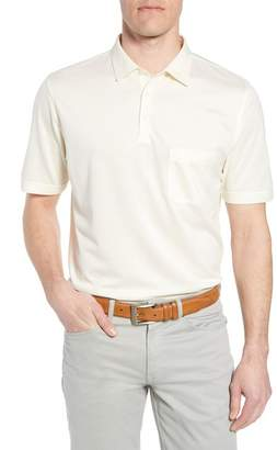 Peter Millar Collection Discovery Silk & Cotton Polo