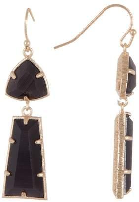14th & Union Double Stone Drop Earrings
