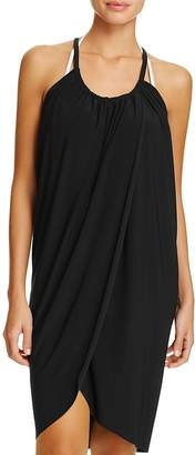 Magicsuit Draped Dress Swim Cover-Up $84 thestylecure.com