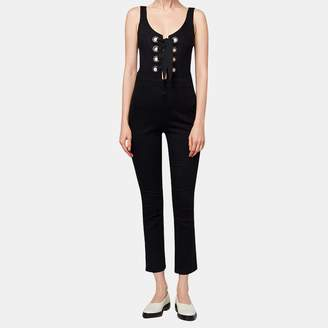 3x1 WR Lacy Jumpsuit in Black No 1 Wash
