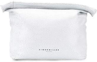 Simon Miller roll top clutch bag