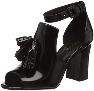 Nine West Women's Bevy Open-Toe Heels, (Black), 39 EU