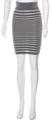 Alexander Wang Stripe Pencil Skirt