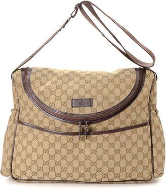 Gucci GG Canvas Diaper Bag - Vintage