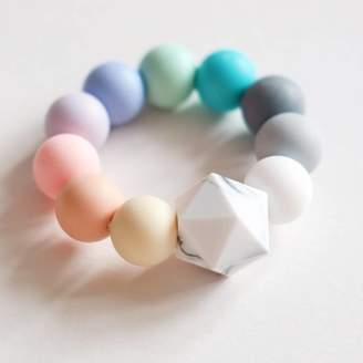 Blossom and Bear Rainbow Teething Toy