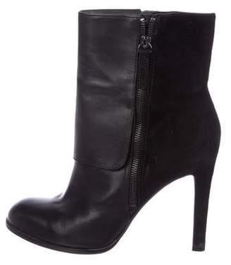 Pour La Victoire Leather Ankle Boots