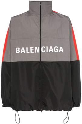 Balenciaga Logo windbreaker jacket