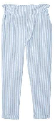 MANGO Fine-stripe suit trousers