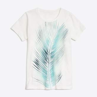 J.Crew Factory Palm leaf collector T-shirt