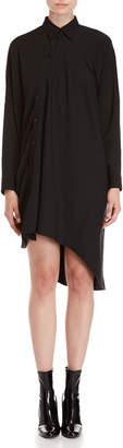 MM6 MAISON MARGIELA Asymmetric Shirt Dress