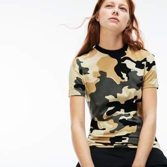 Lacoste (ラコステ) - カモフラージュプリント クルーネックTシャツ (半袖)
