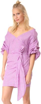 MLM LABEL Salo Wrap Dress $180 thestylecure.com