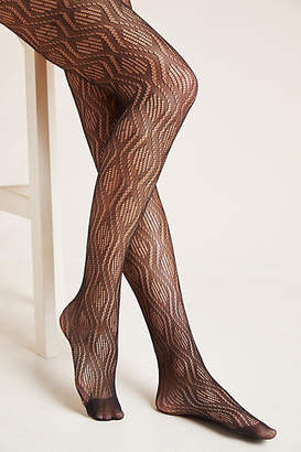 Hansel from Basel Chevron Fishnet Tights