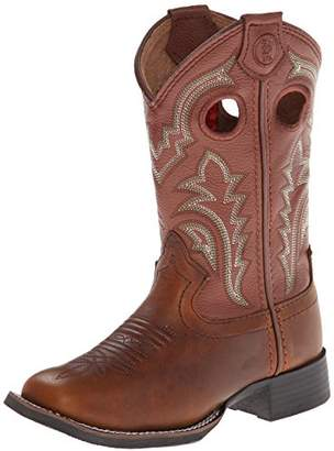 Tony Lama Collection Square Toe Boot (Toddler/Little Kid/Big Kid)