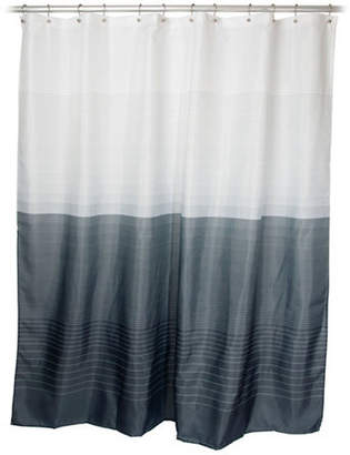 Famous Home Fashions Zack Pewter Shower Curtain