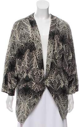 DAY Birger et Mikkelsen Silk Abstract Jacket