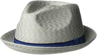 Bailey Of Hollywood Men s Mannes Braided Fedora Trilby Hat ea5c7d924d70