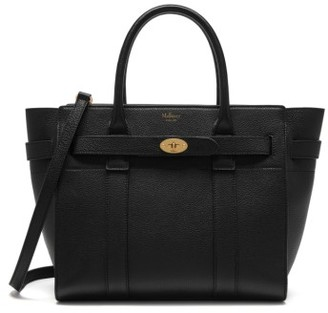Mulberry Small Zipped Bayswater Leather Satchel - Black $1,375 thestylecure.com