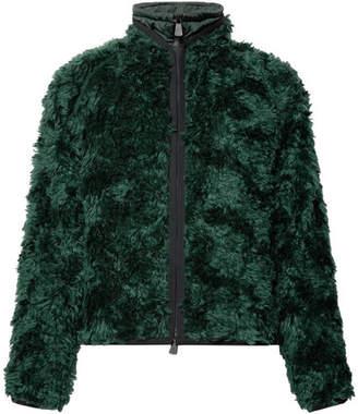Moncler Genius - 3 Sopranes Mohair and Cotton-Blend Jacket - Men - Green