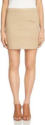 1.STATE Patch Pocket A-Line Skirt $69 thestylecure.com