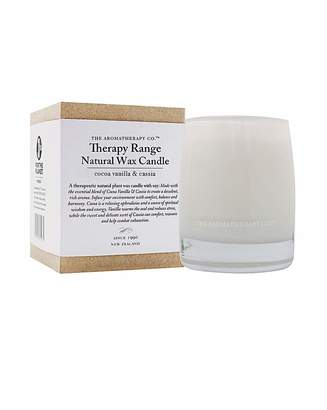Fashion World Therapy Range Natural Wax Candle