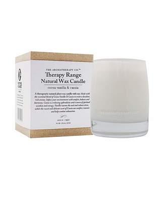 Fashion World Therapy Range Natural Wax Candle