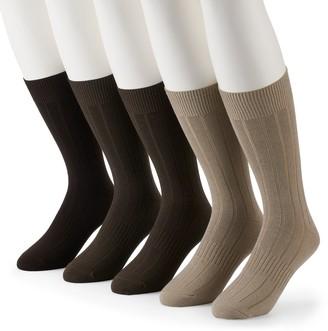 Croft & Barrow Men's 5-pack Opticool Socks