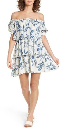 Women's Stone Cold Fox Liberty Off The Shoulder Minidress $285 thestylecure.com