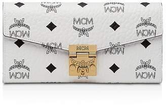 MCM Patricia Visetos Large Chain Wallet