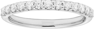 Platinum 3/8 Carat T.W. IGL Certified Diamond Wedding Band