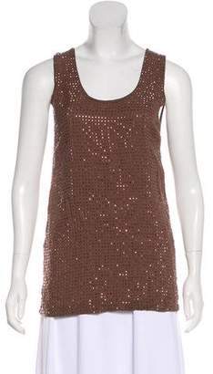 Gucci Embellished Sleeveless Top