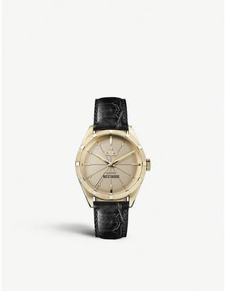 Vivienne Westwood VV192GDBK gold-toned watch