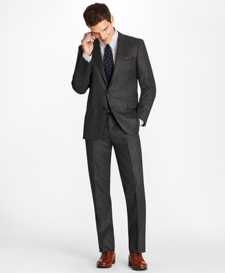 Brooks Brothers Regent Fit Stretch Flannel 1818 Suit